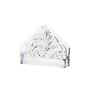 Porta Guardanapos de Cristal Dublin 13x4,5cm LYOR