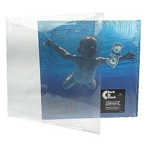 (1unid) Vinil-1 (0,20mm) Pasta Protetora para Disco de Vinil LP Long Play Simples 30cm