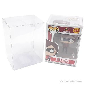 (1unid) Funkopop-1 (0,20mm) Embalagem de Proteção para Caixa FunkoPop 10cm Padrão Case FunkoPop