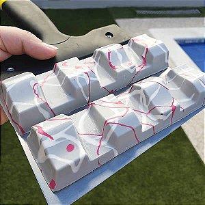 Forma com Silicone Tablete Sensações Chocolate 105g Ref.9768 BWB 1unid