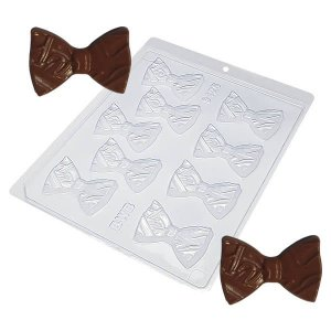 Forma para Chocolate Gravata Borboleta 10g Dia dos Pais Ref. 9425 BWB 10unid