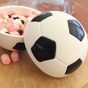Forma para Chocolate com Silicone Bola Futebol 300g Dia dos Pais Ref. 810 BWB 1unid