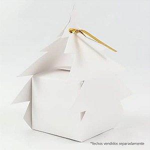 Caixa AN-1 Branca (5.5x5.5x5 / 12 cm) 10unid Caixa Natal Pinheiro