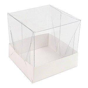 PMB-4 Lisa Branca (PMBTR-4) (5x5x5 cm) 10unid Caixa Teta de Nega e Trufa