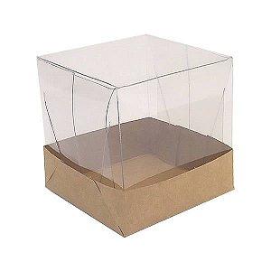 PMB-5 Kraft (4x4x4 cm) Caixa para Embalagem 10unid