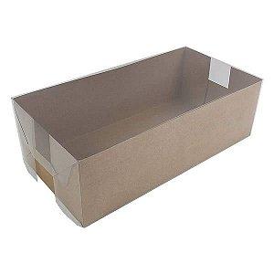 KRP-7 KRAFT (31x16x10 cm) Embalagens de Plástico 10unids