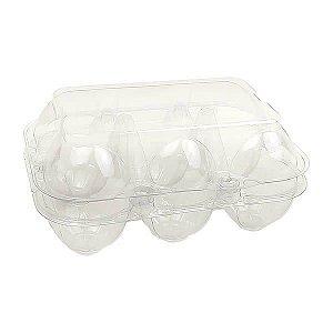 Caixa para 6 Ovos, Embalagem para Meia Dúzia de Ovos, Caixa para Sabonete de Galinha Pintadinha, Caixa 6 Ovos (10unids)