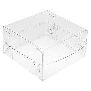 PMB-13 Caixa Plástica (7.5x7.5x4 cm) Embalagem de Plástico 10unid