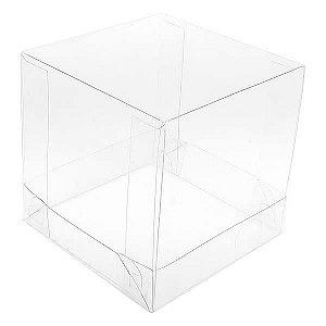 PMB-8 Caixinha de Plástico (8.5x8.5x8.5 cm) Caixa Plástica Embalagem Transparente 10unid