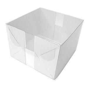 TRP-33 (10x10x7 cm) Caixa para Embalagem de Acetato Plastico e Papel 10unid