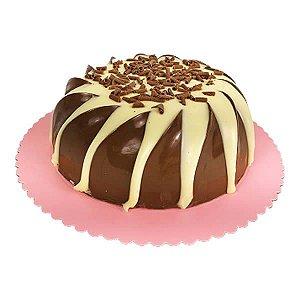 Forma para Chocolate Semiprofissional com Silicone Bolo Espiral Ref. 3657 BWB 1unid