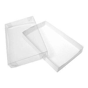 TRP-78 (14.5x5x2 cm) Caixinha de Plástico Acetato e Papel 10unid