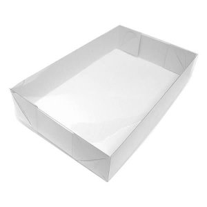 TRP-16 (18x12x3 cm) Caixa para Embalagem Acetato e Papel 10unid