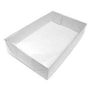 TRP-18 (16x11x2.5 cm) Caixinha de Plástico Acetato e Papel 10unid