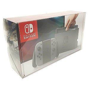 Console-1 Caixa de Proteção Case Console Nintendo Switch (0,30mm) Caixa Protetora para Console Nintendo Switch 1unid