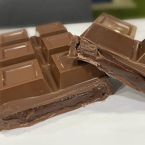 Forma para Chocolate Semiprofissional com Silicone Barra Para Rechear Grande 1kg 1000g Ref. 3647 BWB 1unid