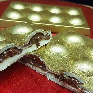Forma para Chocolate com Silicone Tablete Bolinha 150g Ref. 9683 BWB 1unid