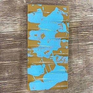 Forma para Chocolate com Silicone Tablete Tubos 250g Ref. 9975 BWB 1unid