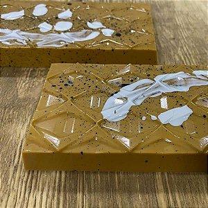 Forma para Chocolate com Silicone Tablete Losango 250g Ref. 9977 BWB 1unid