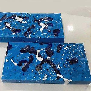 Forma para Chocolate com Silicone Tablete Ilusão 3D 250g Ref. 9992 BWB 1unid