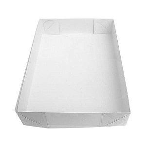 TRP-35 (13x8x2 cm) Caixa Plástico Acetato e Papel 10unid