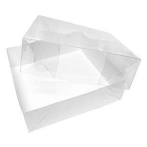 TRP-20 (10 X 10 X 2 cm) Embalagens de Plástico Acetato e Papel 10unid