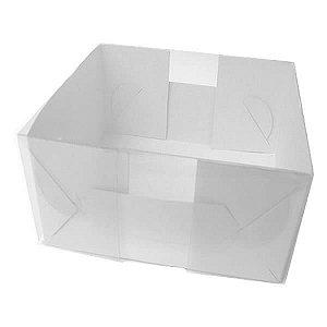 TRP-39 (9 X 7.5 X 7 cm) Caixa Plástico Acetato e Papel 10unid