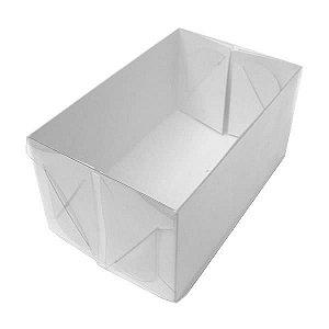 TRP-126 (12 X 6.5 X 4.2 cm) Caixinha de Plástico Acetato e Papel 10unid