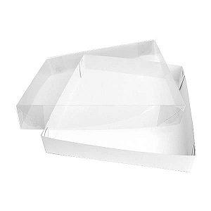 TRP-79 (6.5x6.5x2 cm) Caixa para Embalagem Acetato e Papel 10unid