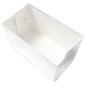 TRP-82 (20.5x11.5x12 cm) Embalagens Plástico Acetato e Papel 10unid