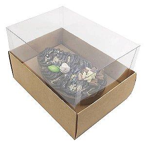 Caixa Ovo de Colher Páscoa 350g (16x11,5x10 cm) KIT125 Embalagem Ovo de Colher 5unids