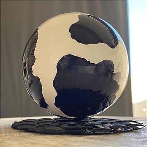 (5unid) Forma para Chocolate com Silicone Esfera de 100mm Ref. 9937 BWB