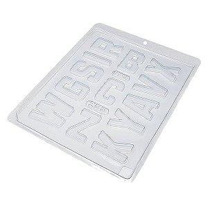 Forma para Chocolate Abecedário 1 Alfabeto Letras 55g Ref. 255 BWB 10unid