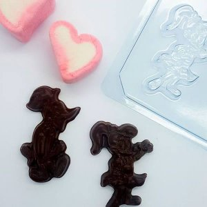 Forma para Chocolate Bombom Pica Pau e Winnie 8g Ref. 11022 BWB Licenciada Universal 10unid