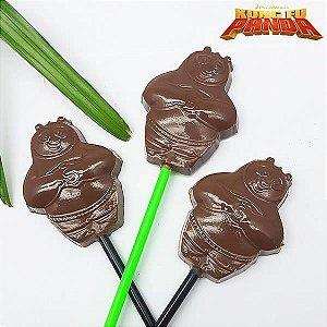 Forma para Chocolate Pirulito Mestre Po Kung Fu Panda 13g Ref. 11015 BWB Licenciada Universal 10unid