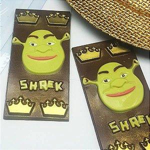 Forma para Chocolate Barra Shrek King 65g Ref. 11056 BWB Licenciada Universal 10unid