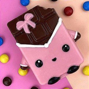 Forma para Chocolate com Silicone Barrinha de Chocolate 130g Ref. 10201 BWB 1unid