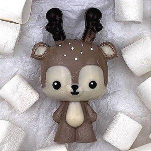 Forma para Chocolate com Silicone Rena Cervo 160g Ref. 10204 BWB 1unid