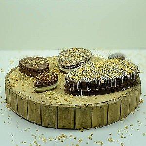 Forma para Chocolate Ovo Tablete Tipo 100g peso30g Forma Simples Ref. 9857 BWB 5unids