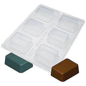 Forma para Chocolate com Silicone Bombom Bolo Medio Ref. 1073 BWB 1unid