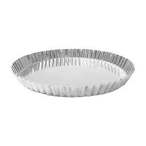 Forma de Aluminio Torta de Maçã Crespa nº24 Ref. 3002 (19x18x3 cm) BWB 1unid