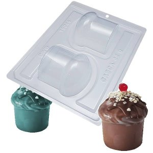 Forma para Chocolate com Silicone Panetone e Chocotone 200g Ref. 10048 BWB 1unid