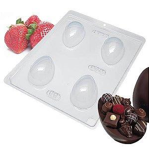 Forma para Chocolate com Silicone Ovo de Páscoa 50g Ref. 846 BWB 1unid
