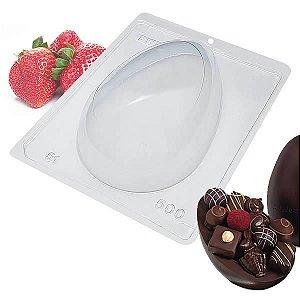 Forma para Chocolate com Silicone Ovo de Páscoa 500g Ref. 51 BWB 1unid