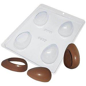Forma para Chocolate com Silicone Ovo Toca Do Coelho 50g Ref. 9437 BWB 1unid