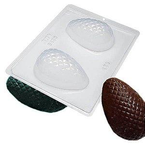 Forma para Chocolate com Silicone Ovo Texturizado Matelassê 150g Ref. 9450 BWB 1unid