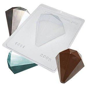 Forma para Chocolate com Silicone Ovo Diamante 250g Ref. 1411 BWB 1unid