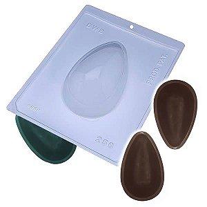 Forma para Chocolate com Silicone Ovo Casca Grossa 250g Ref. 9559 BWB 1unid