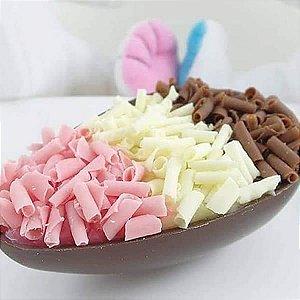 Forma para Chocolate Semiprofissional 141 Ovo Liso 250g Ref. 3626 BWB 5unid