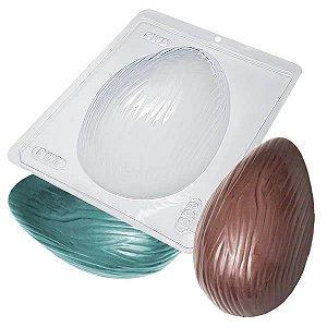 Forma para Chocolate com Silicone Ovo Riscado 500g Ref. 807 BWB 1unid